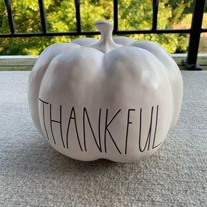 NEW! Rae Dunn Thankful Pumpkin